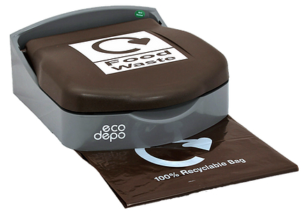Recycling Bin - Wall Mount - Food Waste - EcoDepo