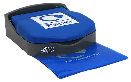 Recycling Bin - Wall Mount - Paper - EcoDepo