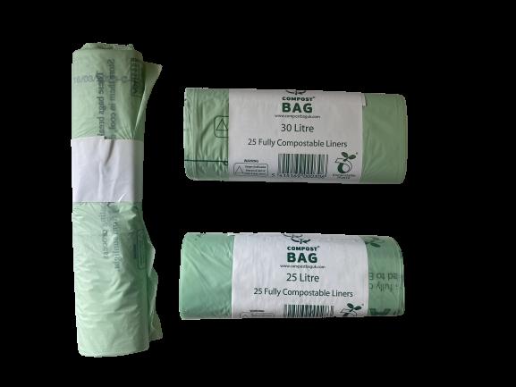 Compostable 10, 25 & 30L rolls