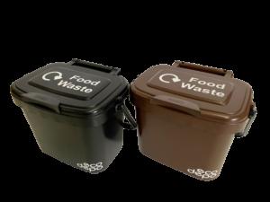 Food Caddy - 5L - Black & Brown